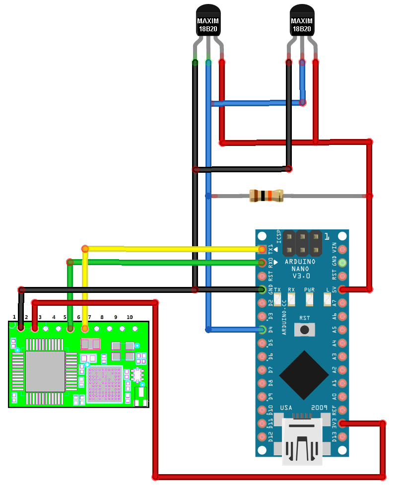 Arduino Nano DS18B20 Wiring Diagram arduino wifi temp logger wifi wiring diagram at gsmx.co