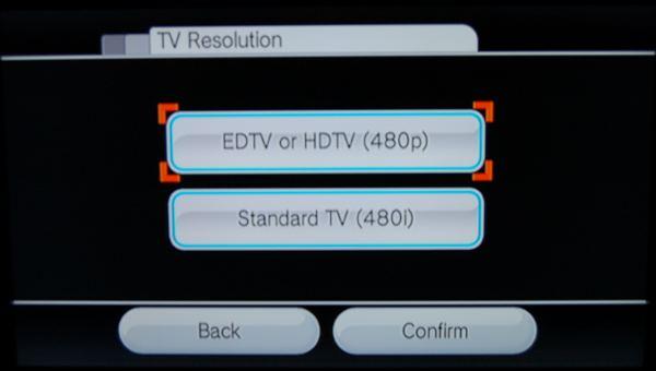 Wii Composite vs Component Cable Screenshots
