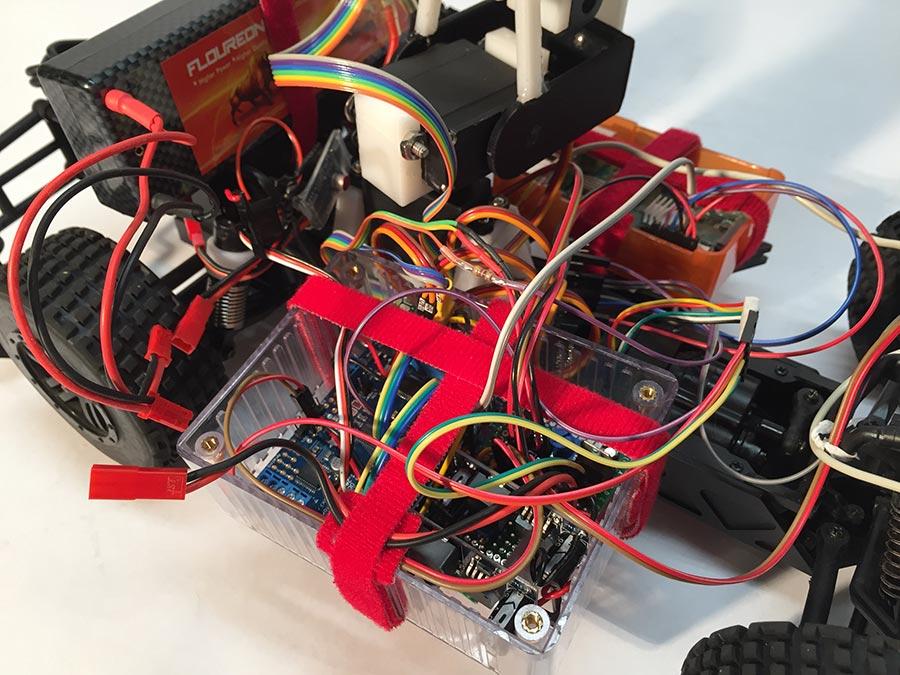 T Rex Raspberry Pi RC Car A Electric Motor Wiring Diagram For Rex on